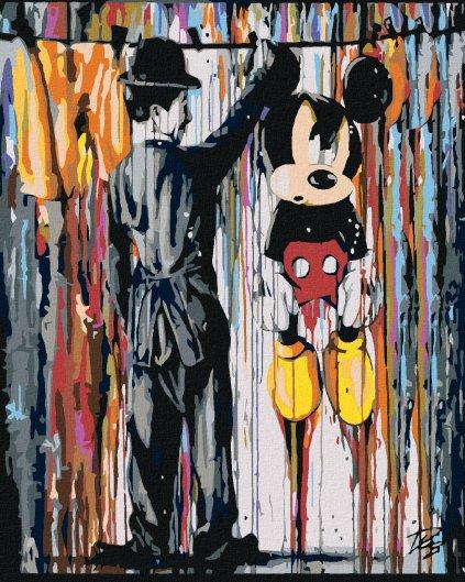 Malování podle čísel - MICKEY MOUSE
