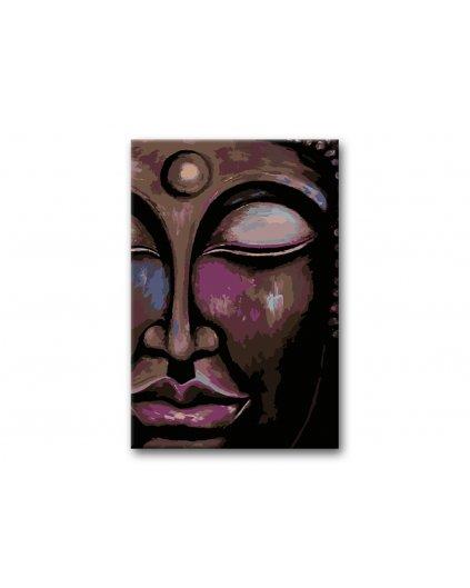 Malování podle čísel - ZASNĚNÝ BUDDHA