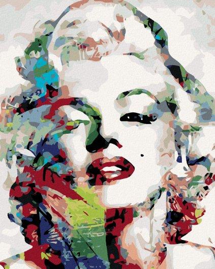 Malování podle čísel - MARILYN MONROE
