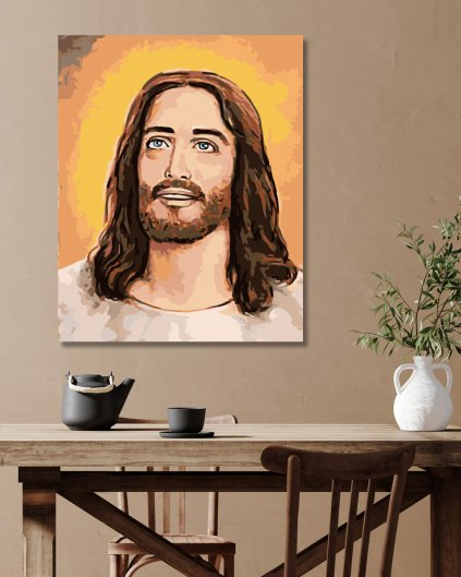 Malování podle čísel - JEŽÍŠ