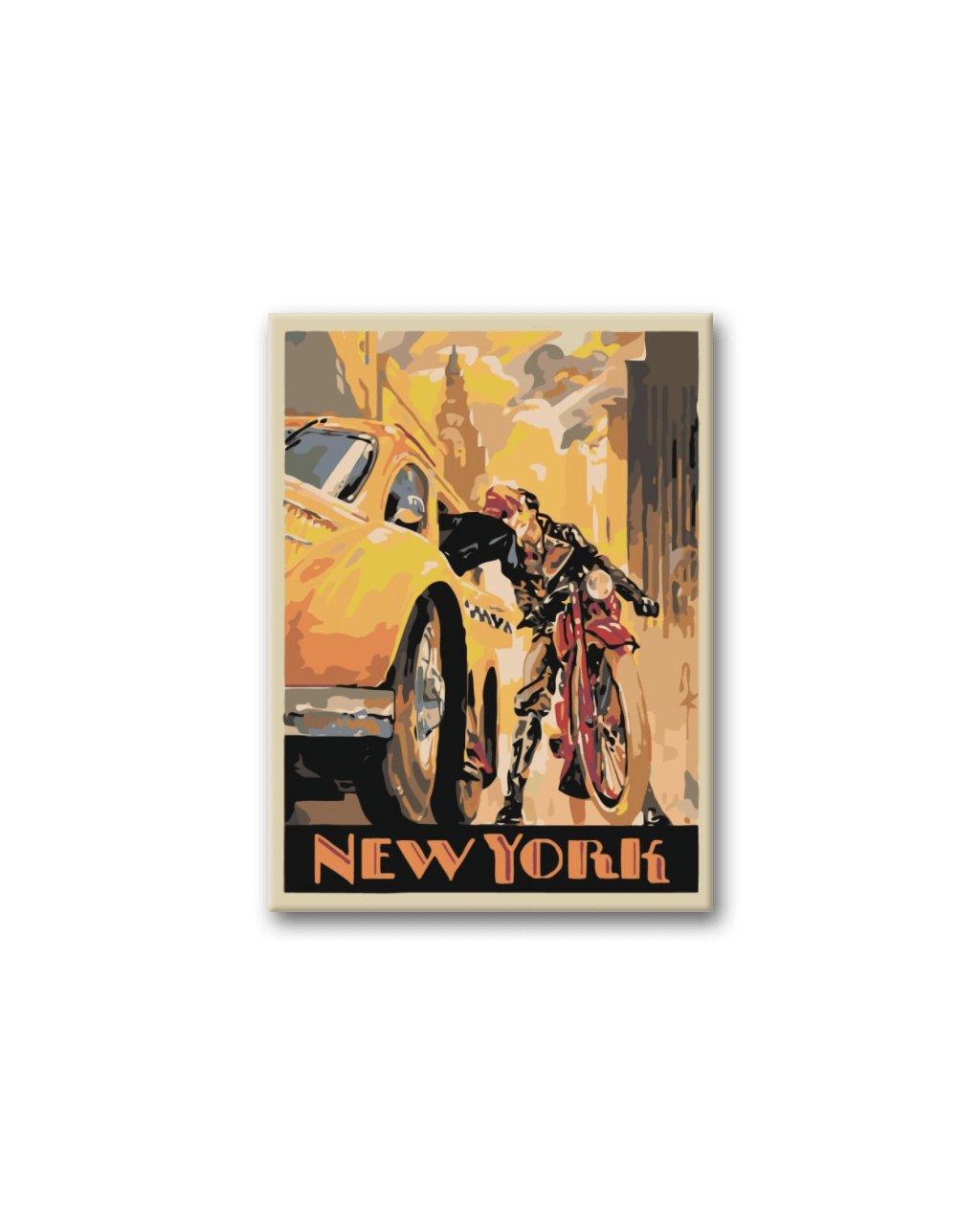 Malowanie po numerach – Pożegnanie w Nowym Jork