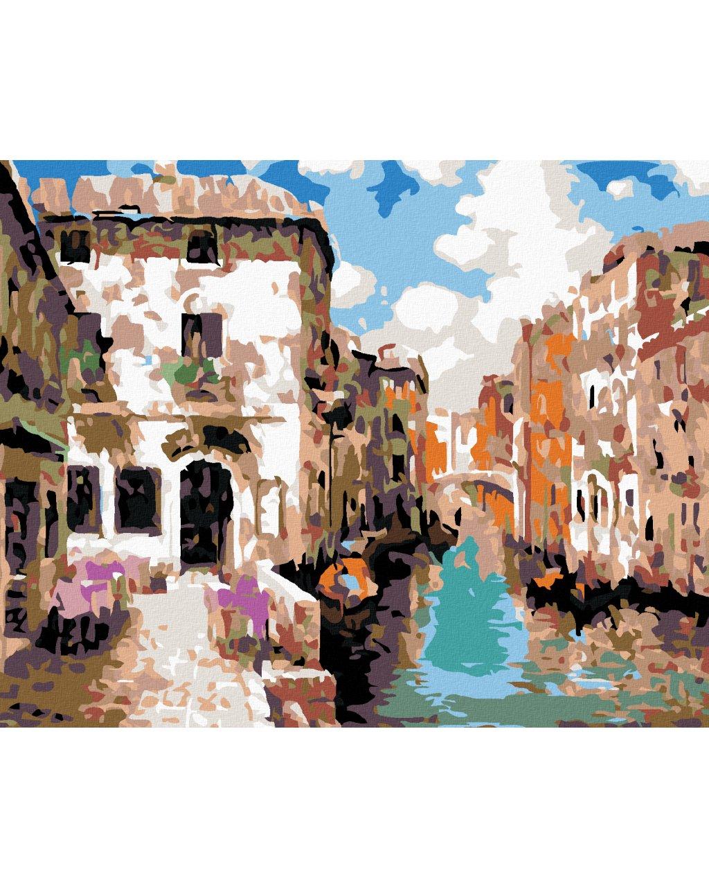 Malowanie po numerach – Impresjonistyczna Wenecja