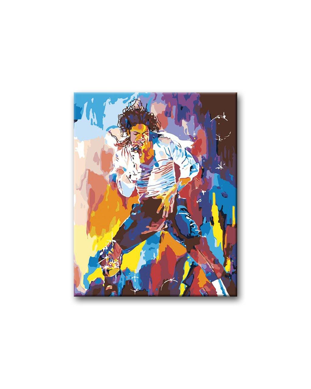 Malowanie po numerach - Michael Jackson