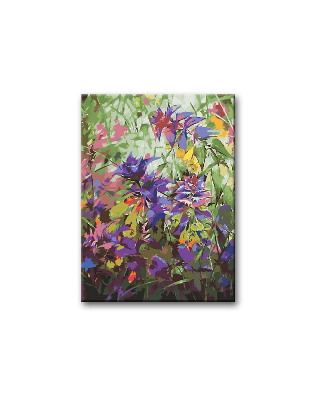 Malowanie po numerach – Polne kwiaty