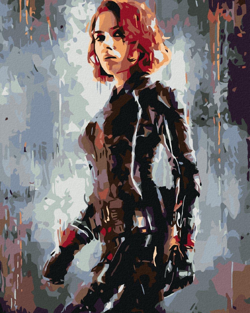 Malowanie po numerach – AVENGERS Black Widow II