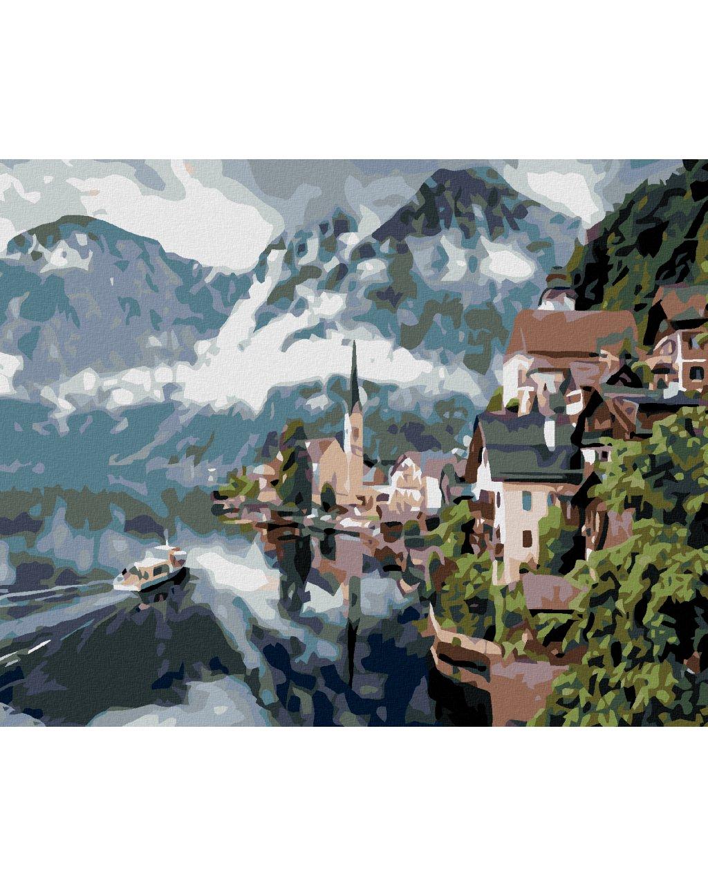 Malowanie po numerach - Hallstatt
