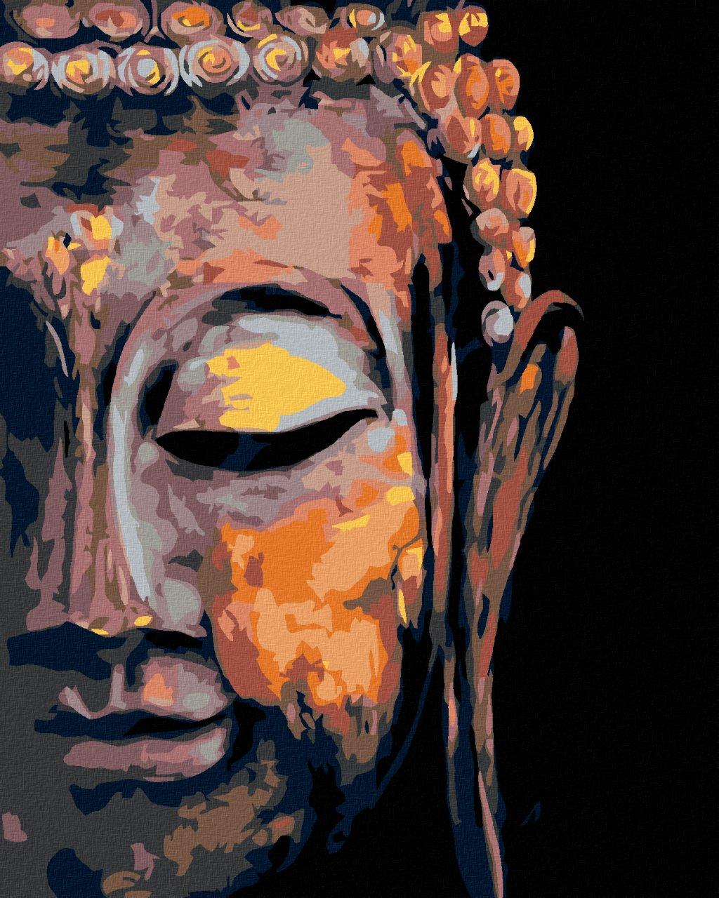 Malowanie po numerach - Budda