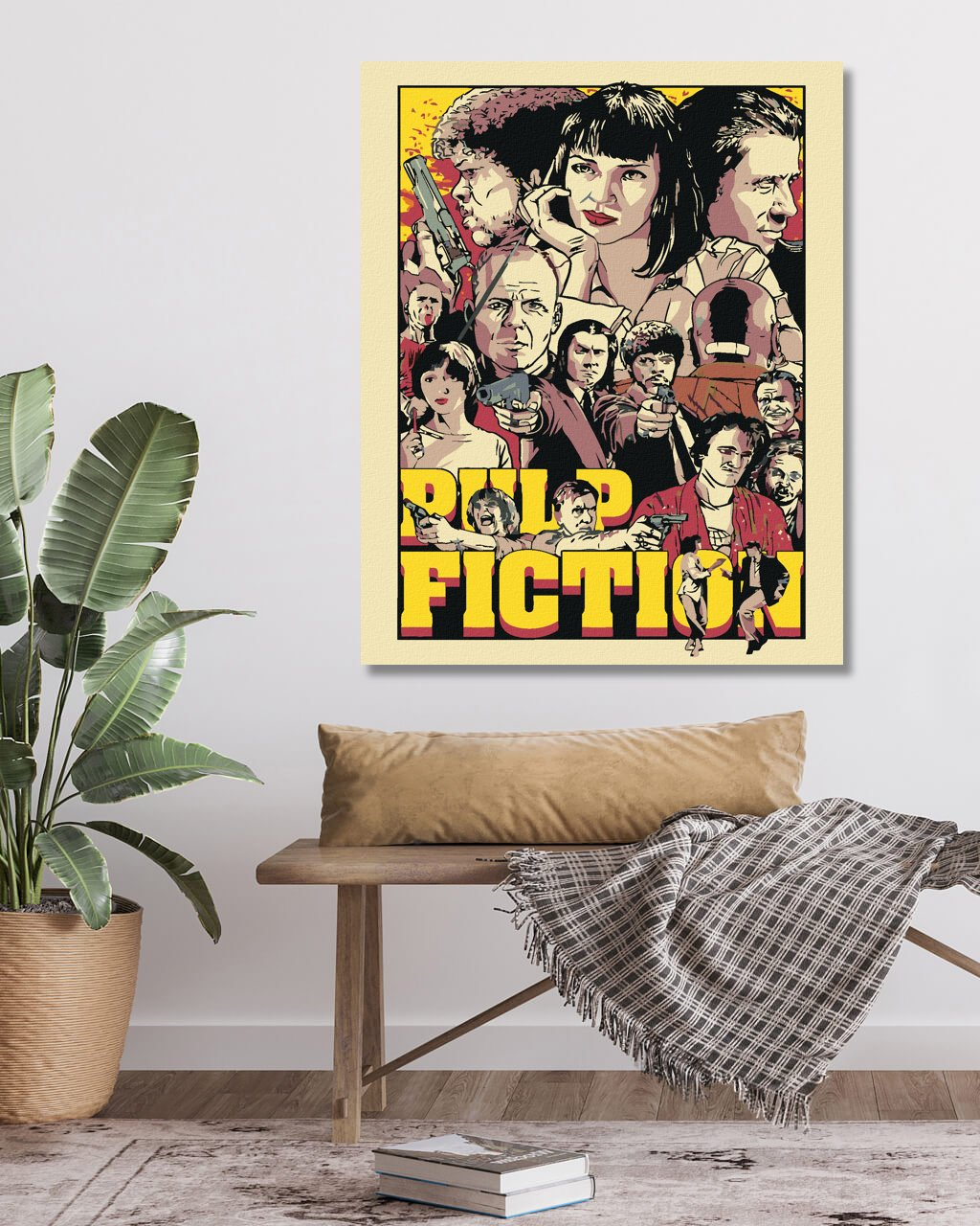 Malowanie po numerach - Pulp Fiction