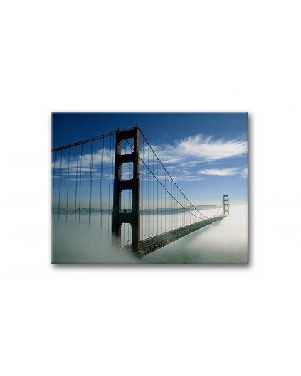 Malowanie po numerach - Most Golden Bridge we mgle