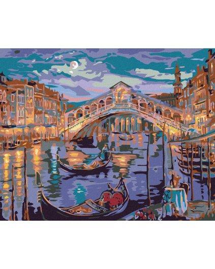 Malowanie po numerach – Wenecja nocą