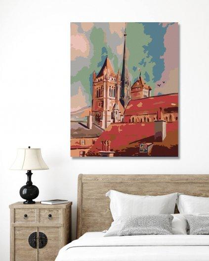 Malowanie po numerach – Kościelna wieża