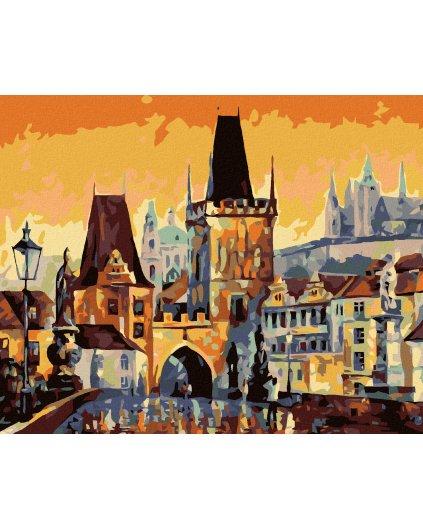 Malowanie po numerach - Most Karola