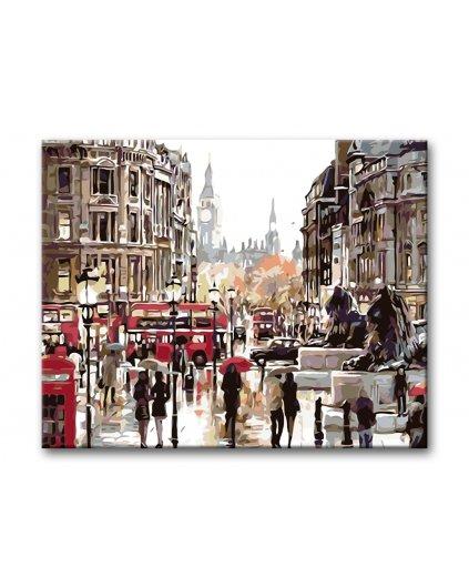 Malowanie po numerach - Trafalgar Square