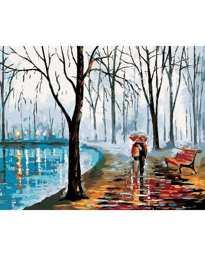 Malowanie po numerach – Na spacerze nad rzeką