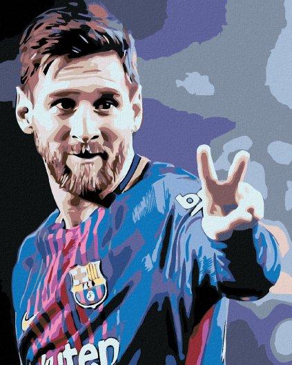 Malowanie po numerach – Messi