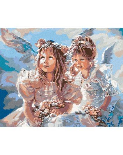 Malowanie po numerach – Aniołki