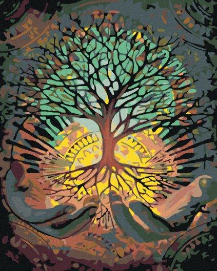 Malowanie po numerach – Drzewo harmonii