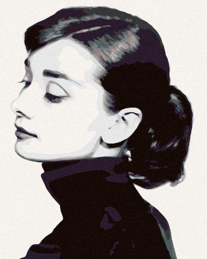 Malowanie po numerach – Audrey Hepburn I