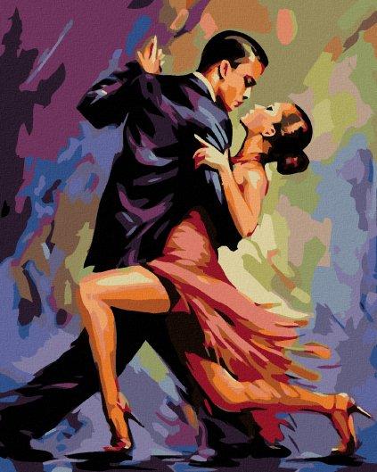 Malowanie po numerach – Tango