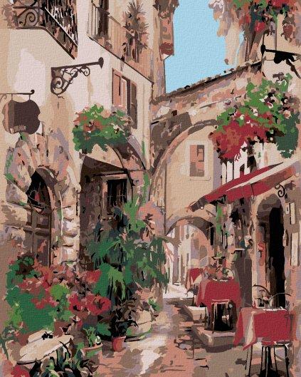 Malowanie po numerach – Włoska uliczka