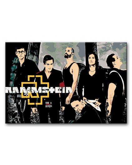 Malowanie po numerach - Rammstein