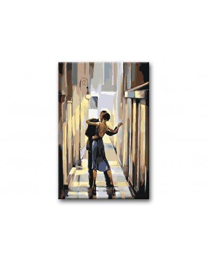 Malowanie po numerach – Taniec w ulicy