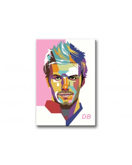 Malowanie po numerach - David Beckham