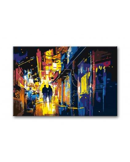 Malowanie po numerach – Miasto nocą