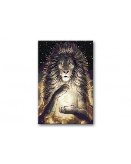 Malowanie po numerach – Znak zodiaku – Lew