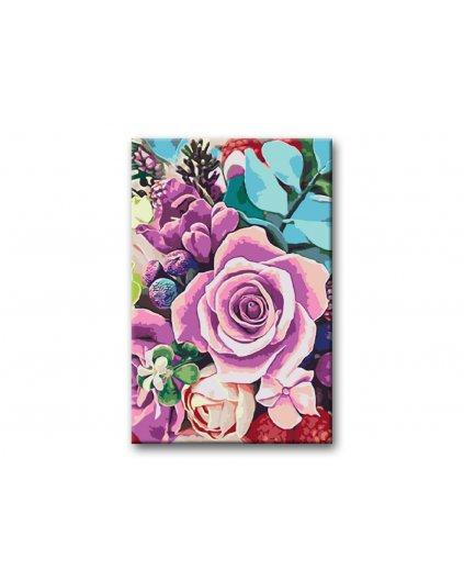 Malowanie po numerach – Wśród kwiatów
