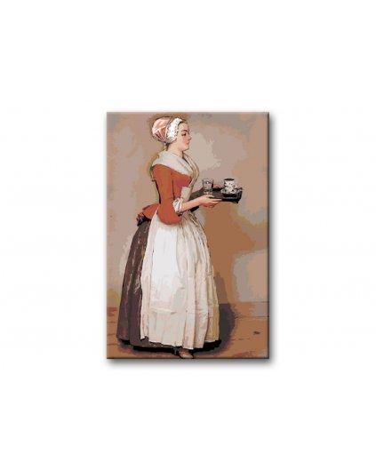 Malowanie po numerach - Dziewczyna z czekoladą – Jean-Étienne Liotard