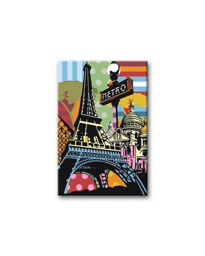Malowanie po numerach – Wesoły Paryż
