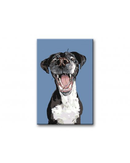 Malowanie po numerach – Psie szczęście