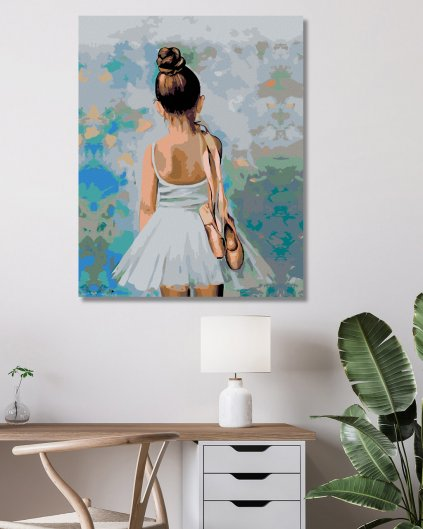 Malowanie po numerach – Mała baletnica