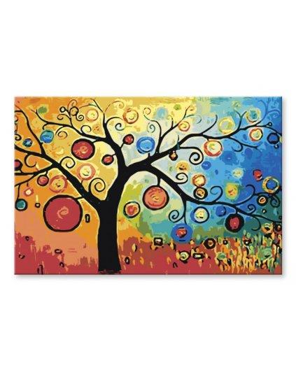Malowanie po numerach – Drzewo marzeń