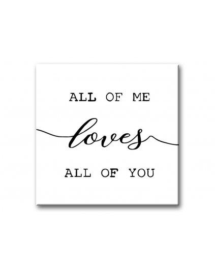 Malowanie po numerach - All of Me …