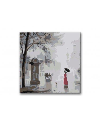 Malowanie po numerach – Listopadowa pogoda