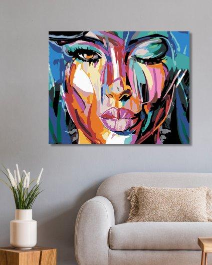 Malowanie po numerach – Pomalowana piękność