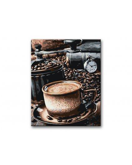 Malowanie po numerach – Czas na kawę