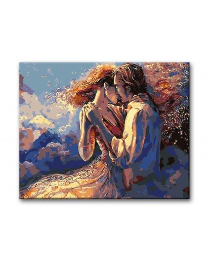 Malowanie po numerach – Zakochany taniec
