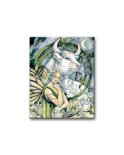 Malowanie po numerach – Znak zodiaku – Byk