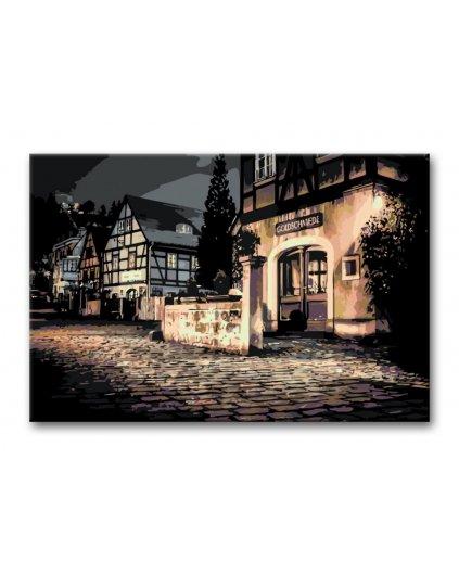 Malowanie po numerach – Niemieckie miasteczko