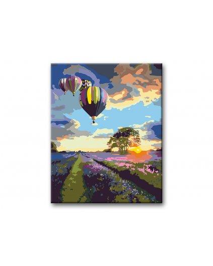Malowanie po numerach – Lot balonów