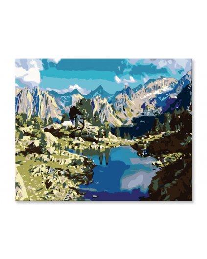 Malowanie po numerach – Górski potok