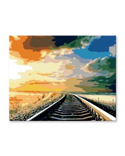 Malowanie po numerach – Wsiąść do pociągu byle jakiego