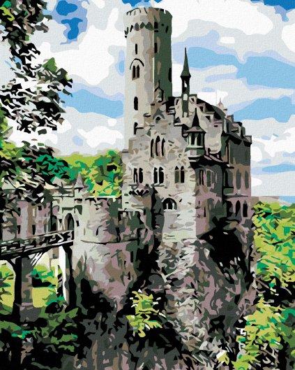 Malowanie po numerach – Zamek rycerski