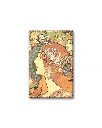 Malowanie po numerach – Alfons Mucha - Zodiac
