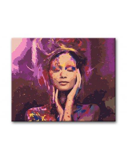 Malowanie po numerach - Purple Dreaming
