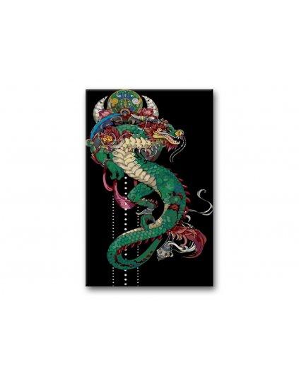 Malowanie po numerach - Chiński smok