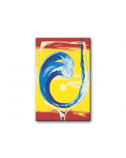 Malowanie po numerach – Drink nad morzem